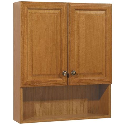 glacier bay wall cabinet glacier bay 23 in w x 28 in h x 6 1 2 in d bathroom