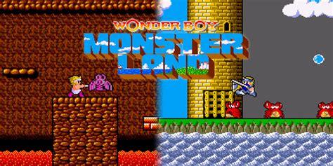 boy  monster land arcade games nintendo
