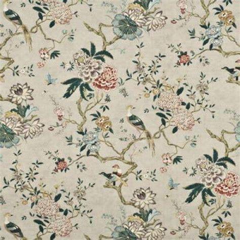 gp amp j baker oriental bird fabric alexander interiors