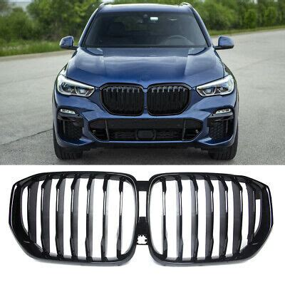 gloss black front kidney grille  bmw  xm