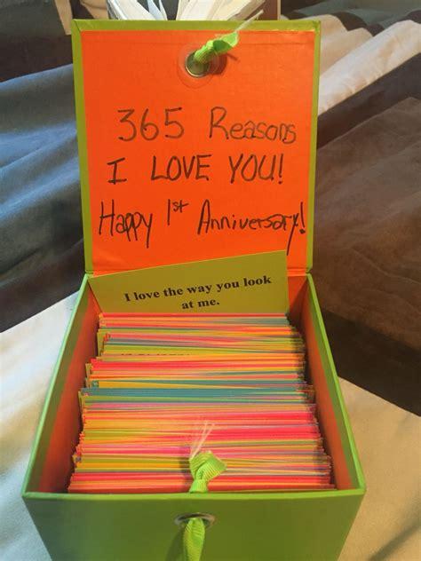 wedding anniversary paper  reasons   love