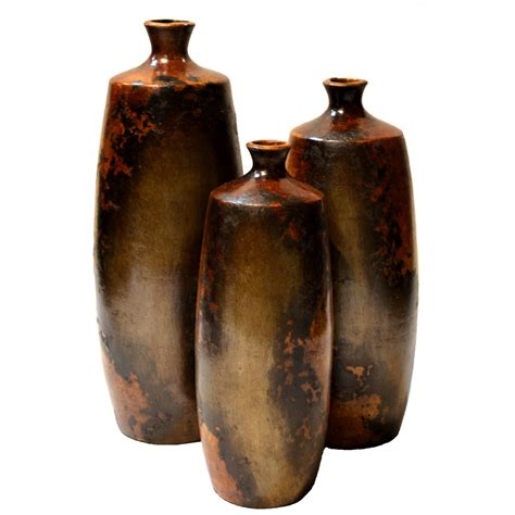 Set Of 3 Vases by Bello Vases Set Of 3