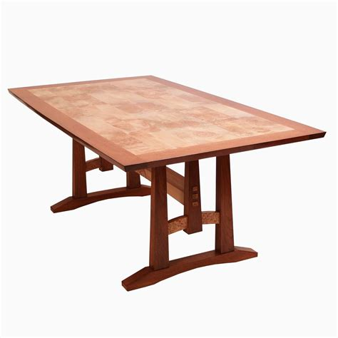 Maple Dining Tables Crafted Oak And Burl Maple Dining Table By Dogwood Design Custommade