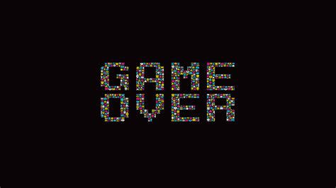 game wallpaper simple dark background game over minimalistic retro games simple