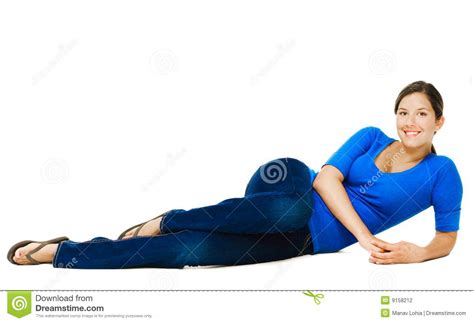 woman reclining young woman reclining stock photography image 9158212
