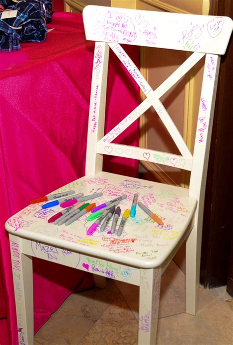 Bat Mitzvah Chair by Bar And Bat Mitzvah Themes Linzi Events