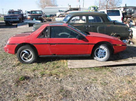 how do i learn about cars 1985 pontiac parisienne parking system 1984 pontiac fiero 2m4 parts car auto a c sunroof 1985 1986 1987 1988 2m6 gt ebay