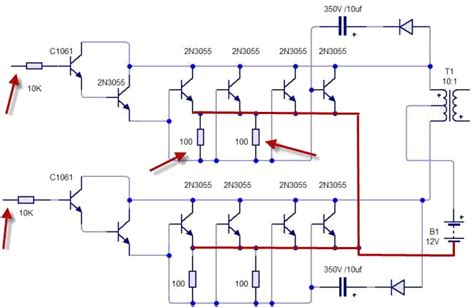 transistor 2n3055 in parallelo transistor 2n3055 in parallelo 28 images connecting two or more transistors in parallel