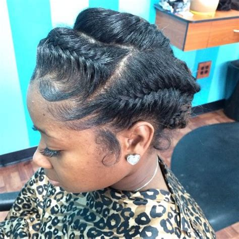 updo goddess braids style 50 easy and showy protective hairstyles for natural hair