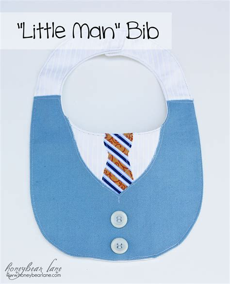 Fall Decor For The Home Make A Quot Little Man Quot Bib Honeybear Lane