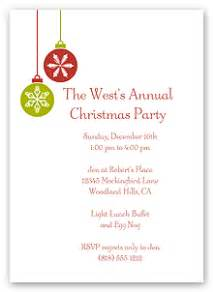 free printable christmas and holiday party invitations