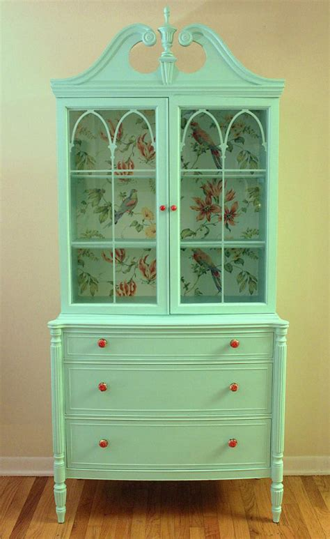 mint vintage china cabinet sold