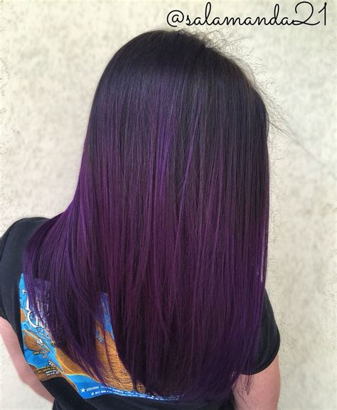 best 25 purple tinted hair ideas on