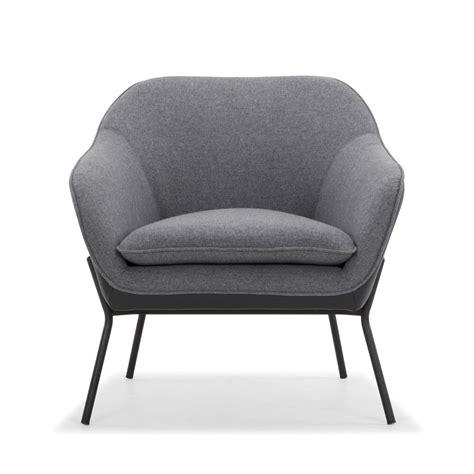 armchair grey trim armchair in dark grey black lounge chairs me