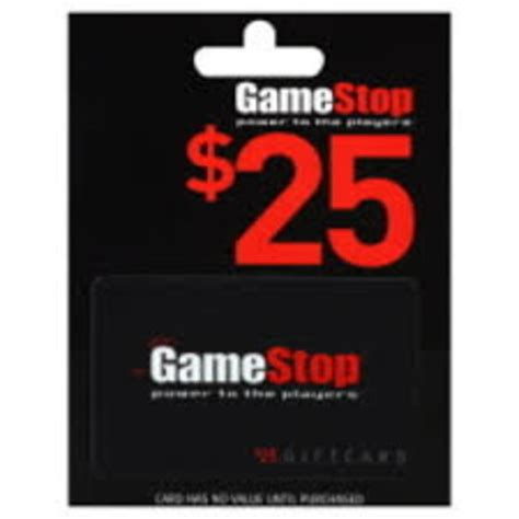 Gamestop Gift Card - tryspree get a 25 gamestop gift card