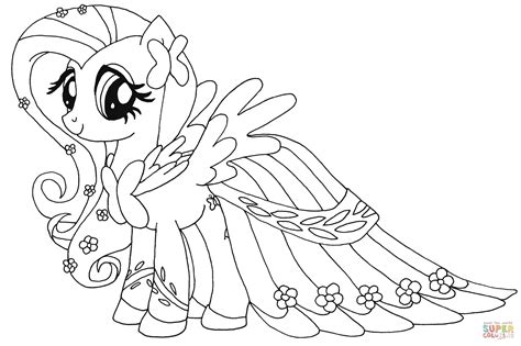 hard my little pony coloring pages fluttershy from my little pony coloring page my little
