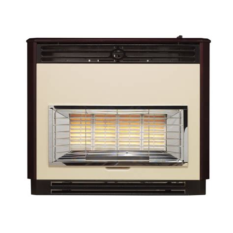 Radiant Heat Gas Fireplace by Valor Brava Radiant Outset Gas 0534711 Mahogany