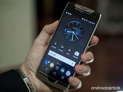 vertu phone vertu constellation review the billionaire s phone