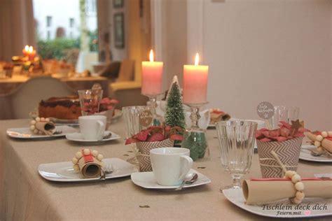 Tischdekoration Hochzeit Apricot by Apricot Weihnachtliche Tischdeko Tischlein Deck Dich