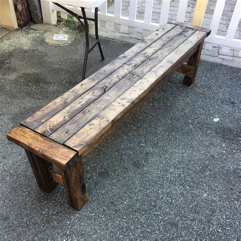 sturdy bench ana white awesome and super sturdy bench diy projects