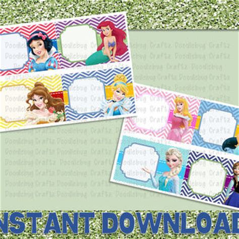 Disney World Princess Autograph Cards From Doodlebugcraftz Autograph Card Template