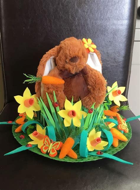 Handmade Easter Bonnet - handmade handcrafted easter bonnet just chillin at easter