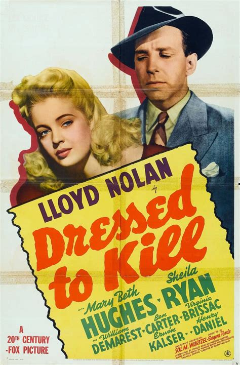 Sleepers West 1941 by Sleuthathon Dressed To Kill 1941 The Motion Pictures