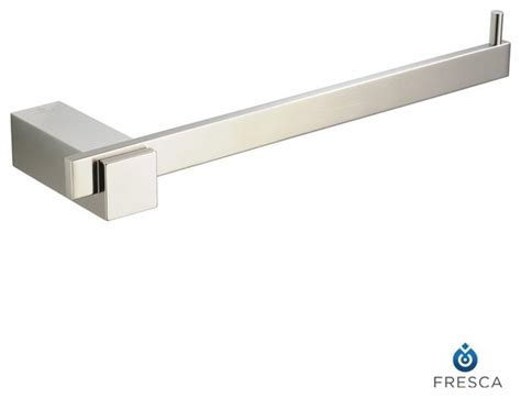 Modern Bathroom Towel Bars Fresca Ellite Bathroom Towel Ring Modern Towel Bars And Hooks By Decorplanet