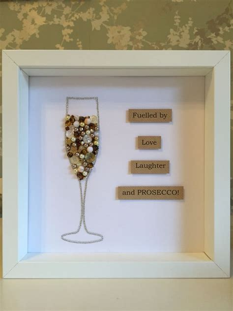Wedding Wine Box Quotes by Prosecco Glasses Button And The Glass On