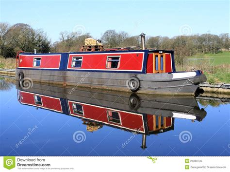 canal boat clipart narrow boat on lancaster canal stock image image 24069745