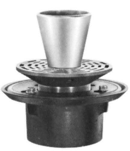 Josam Plumbing by Js30000 E2 Josam 30000 E2 C I With Satin Nikaloy Strainer By Commercial Plumbing Supply