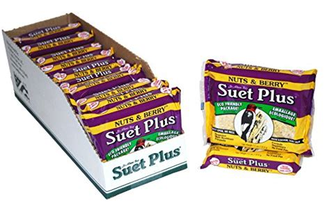 suet plus 12 count nuts and berry suet cake