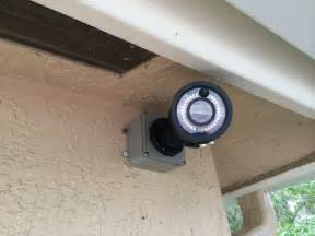 cctv with pir motion detector light and alarm relays