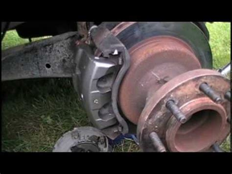 front brake caliper removal  replacement ford  drw