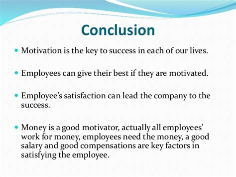 ob ppt on motivation