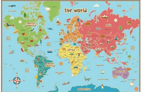 free map of world rivers to printable free world map for teachers