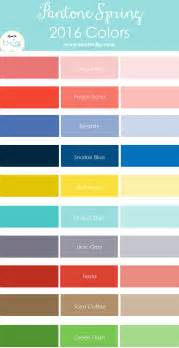 Details of the pantone spring 2016 colors