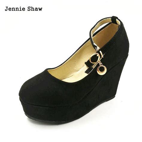 aliexpress buy autumn high heel platform shoes black
