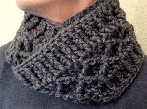 Chunky Infinity Scarf Crochet Pattern Scarf And Cowl Patterns Make My Day Creative