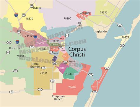 map of corpus christi texas texas map corpus christi my