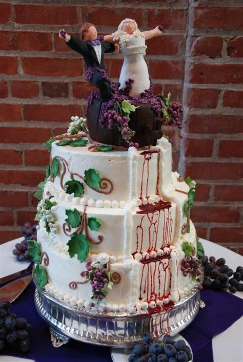 Wine themed cake   Wedding cakes in 2019   Cake, Themed