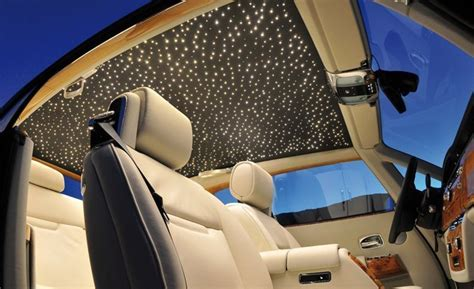 rolls royce wraith headliner the ten most decadent options feature car and driver