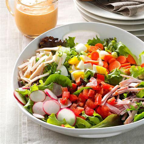 Garden Salad Recipe Ideas Garden Fresh Chef Salad Recipe Taste Of Home