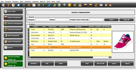 free download full version inventory management software screenshots starcode pos inventory