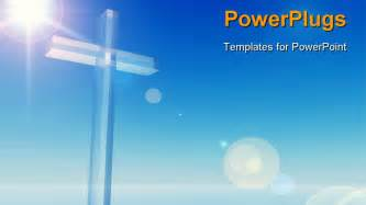 Powerpoint Templates Christian by Best Christiancros Powerpoint Template High Resolution