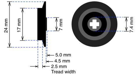 Blinde Flange Wheels L Gauge
