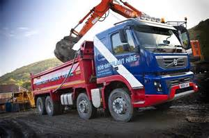 Volvo Dealers Wales Volvo Trucks Fmx Tipper In South Wales Joins Bob
