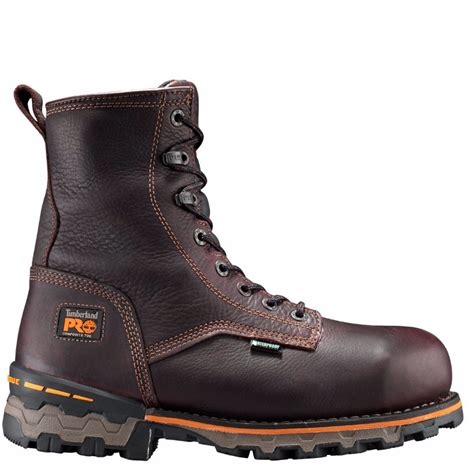 work boots for stores timberland pro s boondock 8 inch comp toe work boots