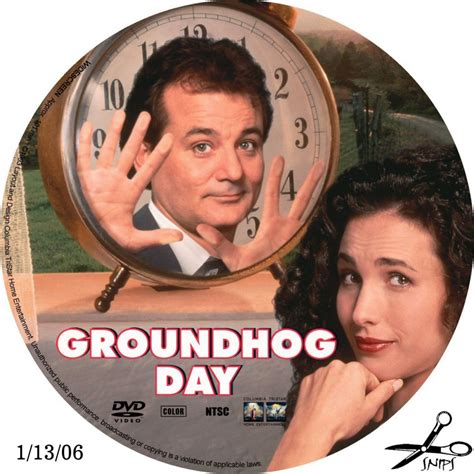 groundhog day dvd groundhog day custom dvd labels groundhog day2 dvd