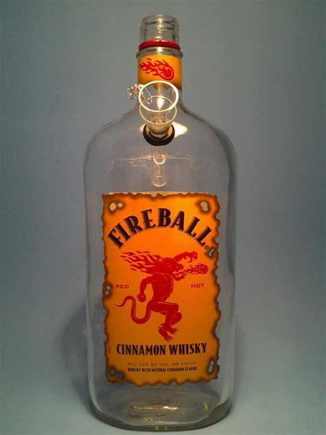 1 fireball liquor bottle water pipe table ls